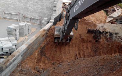 Wykopy drogowe i fundamenty